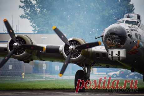 Фото Boeing B-17 Flying (N5017N) - FlightAware