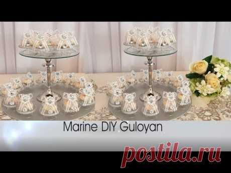 Роскошные бонбоньерки своими руками бизнес на дому  #Marine_DIY_Guloyan - YouTube