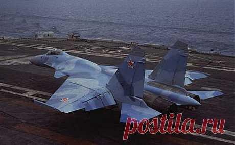Су-33.Корабельный истребитель