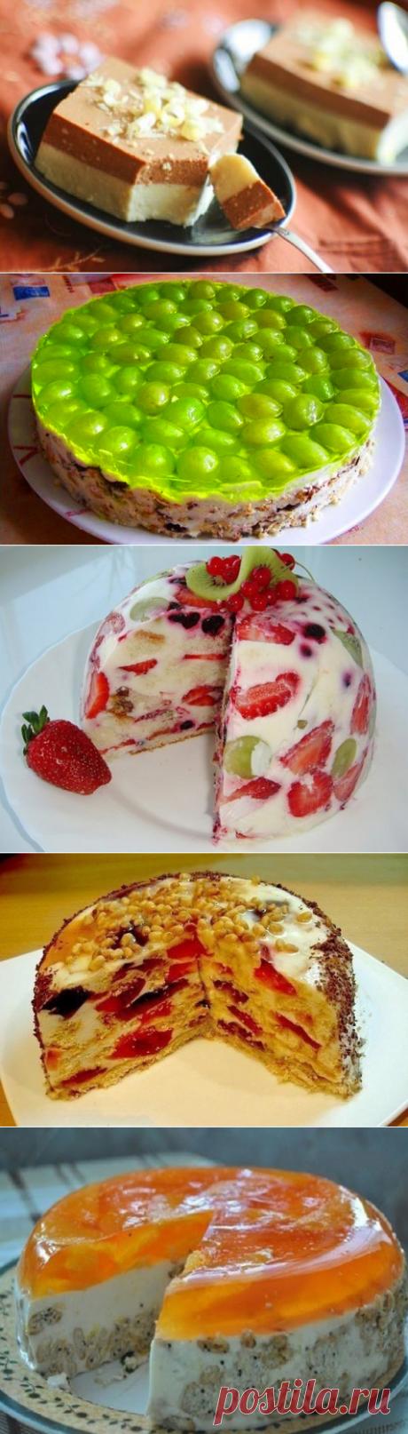 5 лучших тортов без выпекания