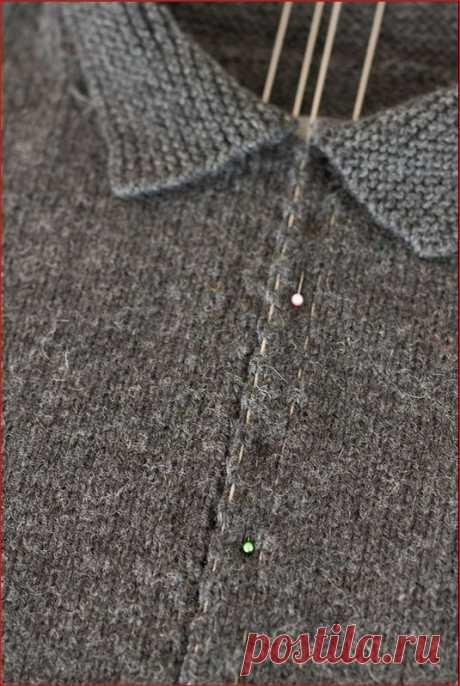 Вшивание молнии в кофту | УТИЛИТАРНОЕ РУКОДЕЛИЕ