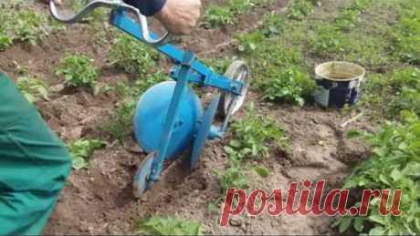 Окучник для картофеля своими руками, или как не надорвать спину