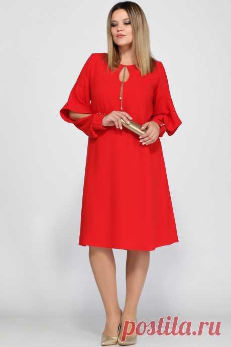 Платье Lady Secret 3543 красный - Женская одежда