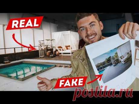 Как делают интерьерные Фото в журнал? FAKE