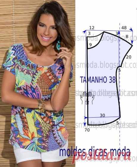 ФОРМА БЛУЗКИ УКРАШАЕТ -86 - Формы Моды на заказ Проанализируйте таким образом, детальный чертеж прессформы блузку украшает. Эта кофточка простой и красивый, носит агрессивно и стильно. Меры соответствуют