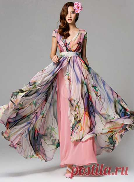 Dresses   Maxi Dresses   Summer Sleeveless Bohemian Maxi Dress