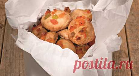 Печенье с цукатами и орехами, пошаговый рецепт с фото