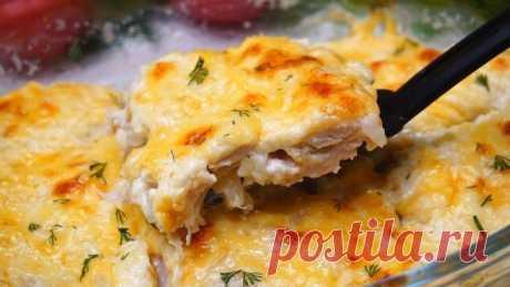 Ужин по-Быстрому на каждый день! Курица под сыром.