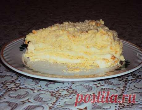 """Слоеный торт """"Золушка"""" – кулинарный рецепт"""