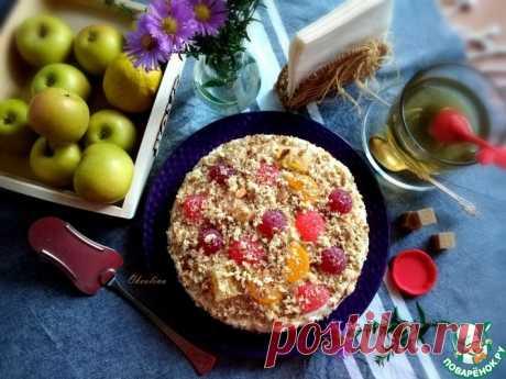 """Яблочный торт """"1001"""" Кулинарный рецепт"""