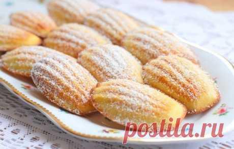 Как приготовить вкусное домашнее печенье мадлен за 15 минут - рецепт, ингредиенты и фотографии