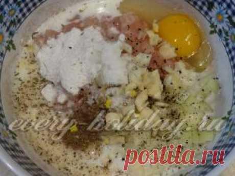 Куриная колбаса в стакане - рецепт с фото