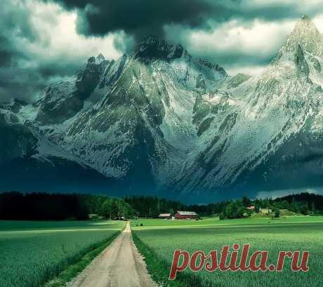 Величественные Альпы ...