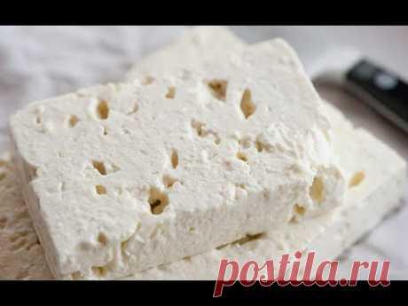 Настоящий Твердый сыр из молока в домашних условиях