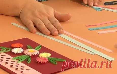 Красивые цветы из бумаги в технике квиллинг