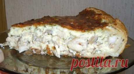 Вкуснейший пирог с курицей