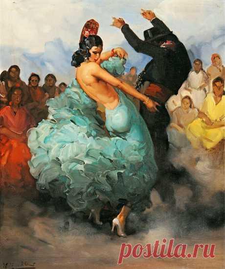 Francisco Rodriguez Sanchez Clement (1893-1968 ) // Фламенко