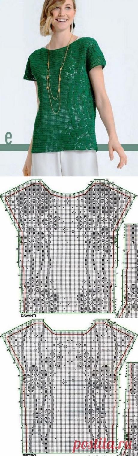Первомайская подборка вязаных топов.   Asha. Вязание и дизайн.🌶   Яндекс Дзен