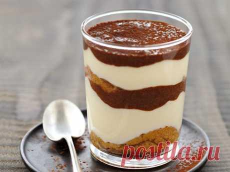 Десерт: тирамису по-домашнему