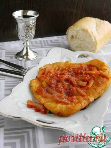 Мясные отбивные в томатном соусе Кулинарный рецепт