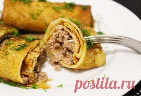 Вкусненький салатик с ананасами, сыром и чесноком