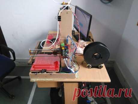 Делаем самостоятельно недорогой 3D-принтер — ОчУмелые ручки