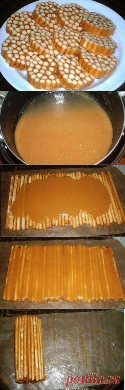 (+1) тема - Сладкая колбаска. Очень просто | Любимые рецепты