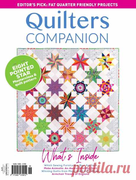 Quilters Companion - Issue 99 2019.