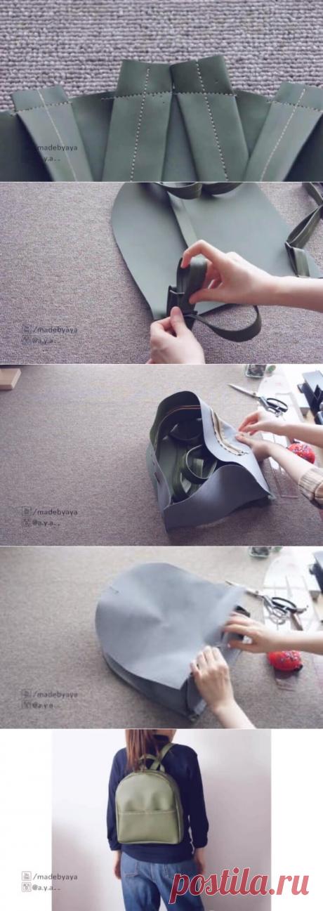 Как сшить рюкзак из старых джинсов своими руками (выкройки) | Тысяча и одна идея