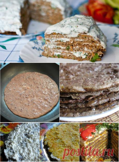 La torta de hígado sin mayonesa: ¡más tiernos korzhi, el gusto inolvidable!