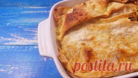 Самый ленивый пирог из лаваша – минимум усилий, максимум вкуса | PripravaClub - кулинарный канал | Яндекс Дзен