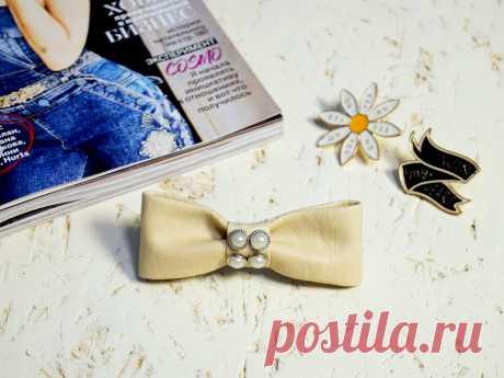 Bezdushna Fashion: DIY, Fashion, Lifestyle: Заколка для волос своими руками data:blog.metaDescription