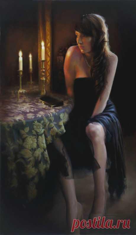 Женщины во сне. Художница Tina Spratt. /Тина Спратт - британская художница.