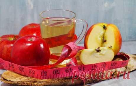 Яблочный уксус для похудения живота — особенности применения
