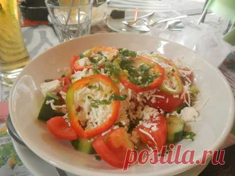 Салат шопский рецепт и фото - Всё, что нужно знать о Болгарии