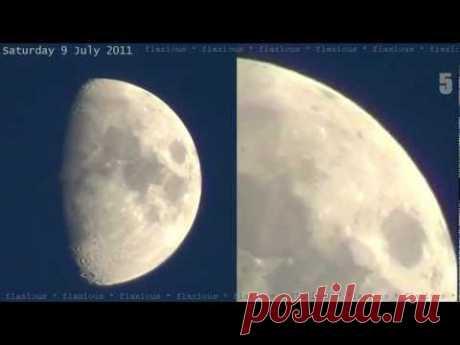 ¿Que esto sobre la Luna? Eeeee... ¿sho por hren??