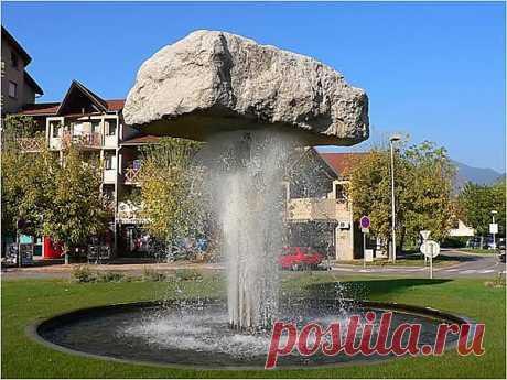 вот такой вот фонтан