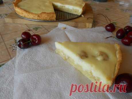 Как приготовить пирог с бананами - рецепт, ингредиенты и фотографии