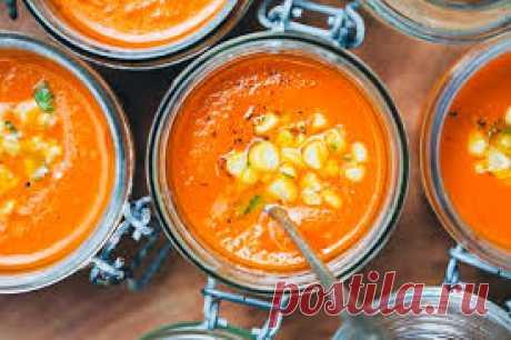 Морковно-томатно-кокосовый суп | 7 шагов к красоте