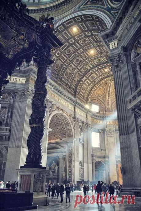 St. Peter's Basilica, Vatican City, Rome. Lazio | Pinterest • World catalog of ideas