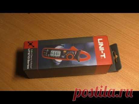 Распаковка и проверка. Токовые клещи UNI-T UT210E №2 с алиэкспресс