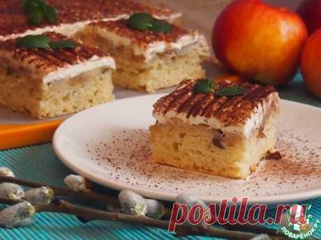 """Яблочные пирожные """"Праздничные"""" Кулинарный рецепт"""