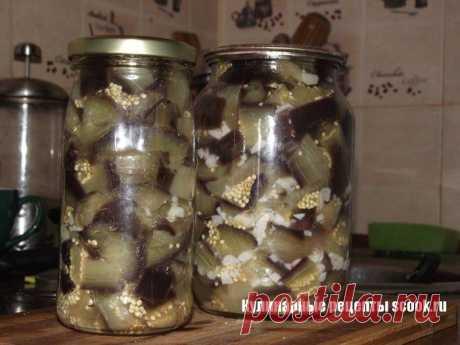 """Баклажаны """"Как грибы"""" (еще один рецепт) - вот тут точно за уши не оторвать!."""