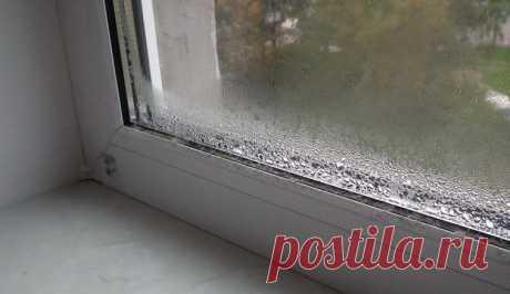 Вот как избавиться от КОНДЕНСАТА на пластиковых окнах! - МирТесен