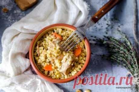Плов из курицы с булгуром • домашний рецепт. С фото!