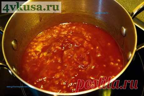 Кисло-сладкий соус. Почти по-китайски. | 4vkusa.ru
