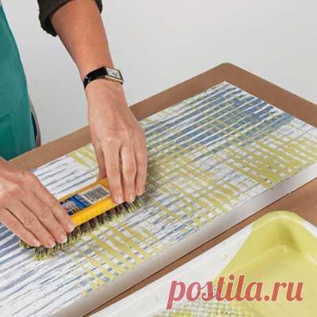 Печать на тканях - интресные способы нанесения для рукодельниц.