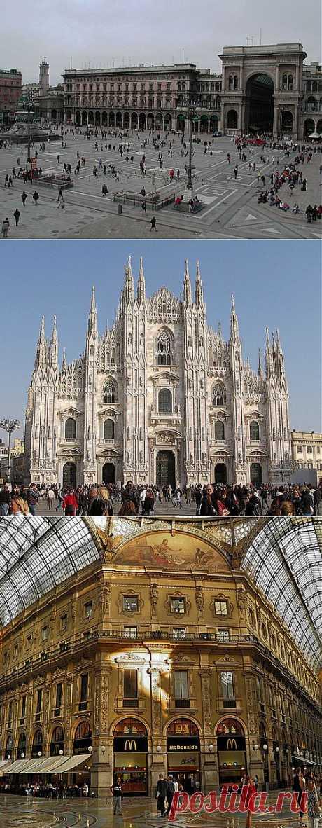 La ciudad Milano más no italiana y de estilo.