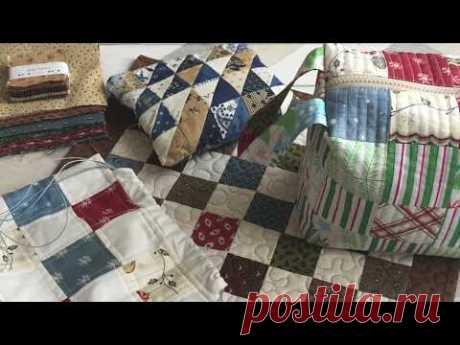 #1.Текстильные вещи из остатков ткани.