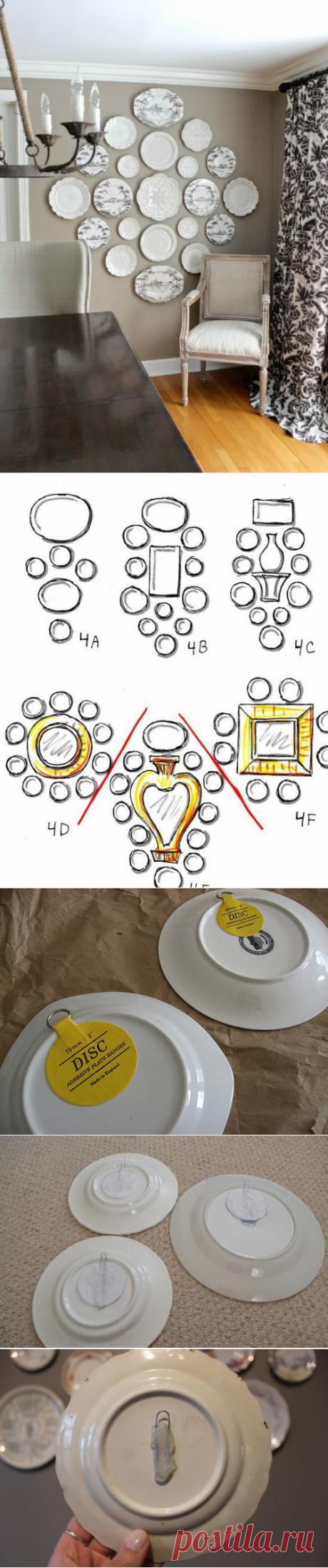 Как повесить тарелки на стену (трафик, подборка) / Кухня / ВТОРАЯ УЛИЦА